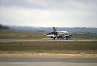 - base US Air Force di Spangdahlem (Germania Federale), caccia F 4 Phantom II del 52° Tactical Fighter Wing, giugno 1985<br />