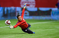 Vancouver, Canada - Thursday November 09, 2017: Ashlyn Harris during an International friendly match between the Women's National teams of the United States (USA) and Canada (CAN) at BC Place.
