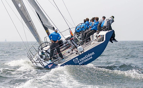 Gerd-Jan Poortman with a crew of 18-25 year olds from the Rotterdam Offshore Sailing Team will be gaining offshore miles experience during the Rolex Fastnet Race Photo: Rotterdam Offshore Sailing team