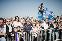 fans waiting on top of the Eikenberg<br /> <br /> 100th Ronde van Vlaanderen 2016