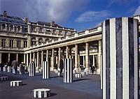 Europe/France/Ile-de-France/75001/Paris: Palais Royal - Les Colonnes de Buren  //  Europe / France / Ile-de-France / 75001 / Paris: Palais Royal - The Columns of Buren