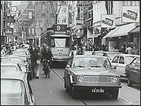 traffic, city of Amsterdam Date: undated circa 1977