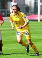 Supercup seizoen 2011 - 2012 ; Kampioen Standard Femina tegen Bekerwinnaar Waasland Beveren Sinaai Girls : Natalie Vanderstappen.foto DAVID CATRY / Vrouwenteam.be
