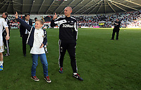 Pictured: Adrian Tucker.<br /> Sunday 19 May 2013<br /> Re: Barclay's Premier League, Swansea City FC v Fulham at the Liberty Stadium, south Wales.