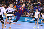 VELUX EHF 2019/20 EHF Men's Champions League Group Phase - Round 8.<br /> FC Barcelona vs Aalborg Handbold: 44-35.<br /> Ludovic Fabregas.
