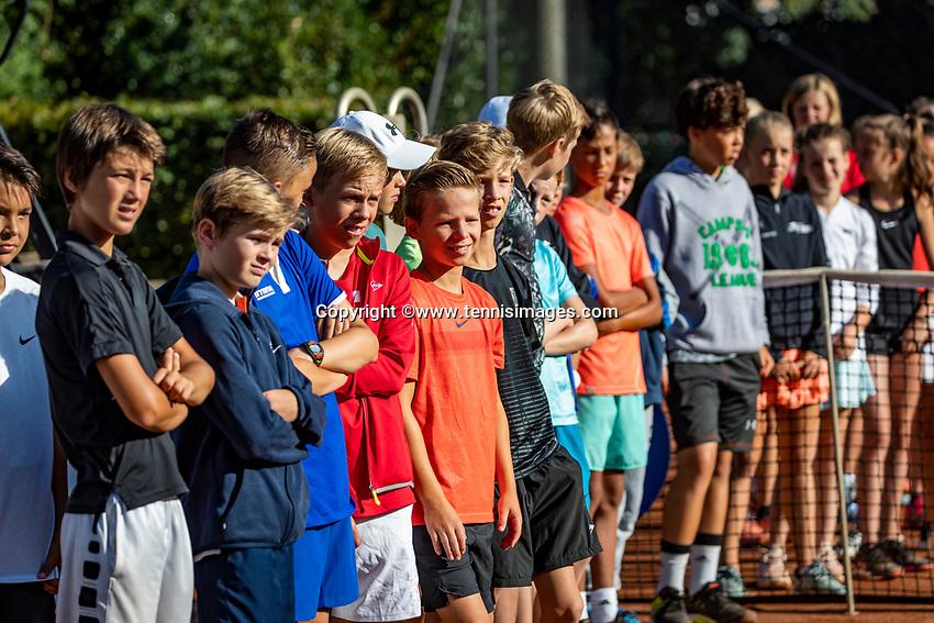 Hilversum, Netherlands, Juli 29, 2019, Tulip Tennis center, National Junior Tennis Championships 12 and 14 years, NJK, Opening<br /> Photo: Tennisimages/Henk Koster
