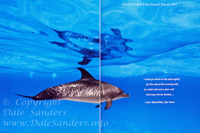 Inside Cover - World Wildlife Fund Annual Report 2001