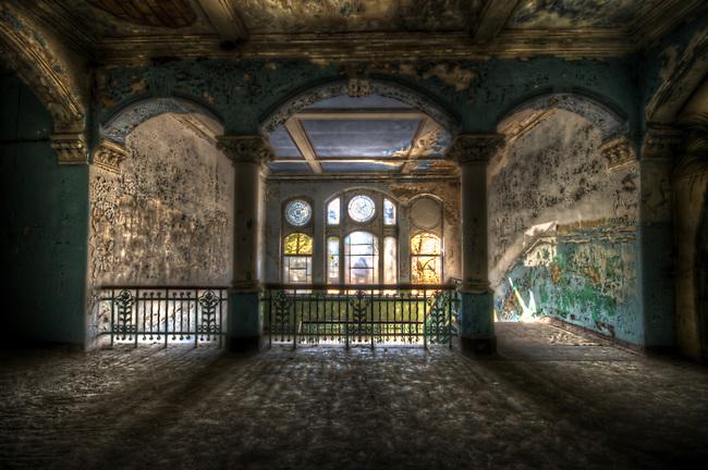 An old hospital outside of Berlin