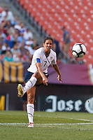 22 MAY 2010:  USA's Shannon Boxx #7 during the International Friendly soccer match between Germany WNT vs USA WNT at Cleveland Browns Stadium in Cleveland, Ohio on May 22, 2010.
