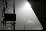 St Johnstone v Kilmarnock…06.11.20   McDiarmid Park SPFL<br />A foggy McDiramid Park ahead of tonights game<br />Picture by Graeme Hart.<br />Copyright Perthshire Picture Agency<br />Tel: 01738 623350  Mobile: 07990 594431