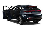 Rear three quarter door view of a 2021 Toyota Venza Limited 5 Door SUV