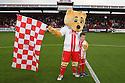Mascot and Boro Bear<br />  - Stevenage v Carlisle Untied - Sky Bet League 1 - Lamex Stadium, Stevenage - 21st September, 2013<br />  © Kevin Coleman 2013