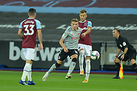 Alfie Doughty of Charlton Athletic FC wins the ball during West Ham United vs Charlton Athletic, Caraboa Cup Football at The London Stadium on 15th September 2020