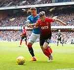 05.05.2018 Rangers v Kilmarnock: James Tavernier and Greg Taylor