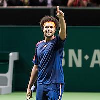 ABN AMRO World Tennis Tournament, Rotterdam, The Netherlands, 19 Februari, 2017, Jo-Wilfried Tsonga (FRA)<br /> Photo: Henk Koster