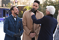 """Jason Gardiner, Ashley Banjo and Philip Schofield<br /> at the """"Dancing on Ice"""" launch photocall, natural History Museum, London<br /> <br /> <br /> ©Ash Knotek  D3365  19/12/2017"""