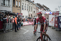 Alexander Kristoff (NOR/Katusha) after finishing<br /> <br /> 12th Eneco Tour 2016 (UCI World Tour)<br /> Stage 7: Bornem › Geraardsbergen (198km)