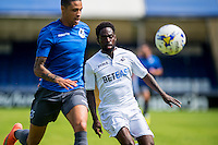 Nathan Dyer of Swansea City in action during the Pre Season friendly match between Swansea City and Rovers played at the Memorial Stadium, Bristol on July 23rd 2016