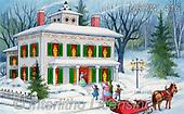 Randy, CHRISTMAS LANDSCAPES, WEIHNACHTEN WINTERLANDSCHAFTEN, NAVIDAD PAISAJES DE INVIERNO, paintings+++++,USRW416,#xl#