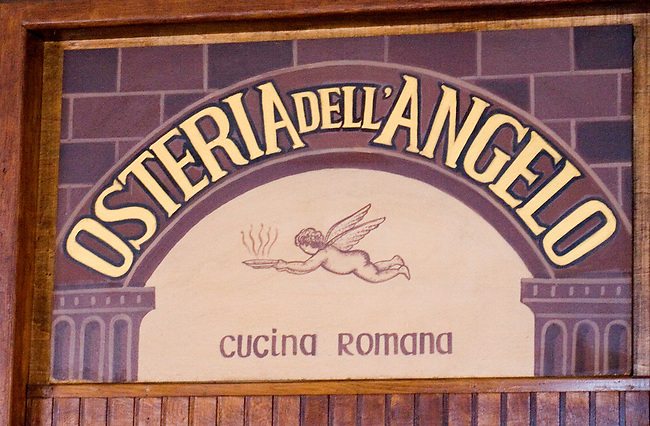Exterior, Osteria dell Angelo, Rome, Italy