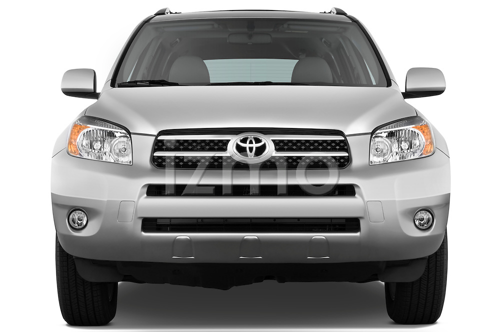 Straight front view of a 2008 Toyota Rav4 Limited SUV Stock Photo