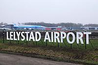 Nederland Lelystad-  Januari 2018.  Lelystad Airport.    Foto Berlinda van Dam / Hollandse Hoogte
