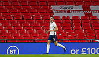 8th Occtober 2020, Wembley Stadium, London, England;  Englands Conor Coady celebrates after scoring for 2-0 in the 53rd minuteduring a friendly match between England and Wales in London