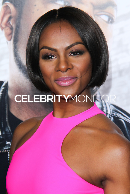 """HOLLYWOOD, CA - JANUARY 13: Tika Sumpter at the Los Angeles Premiere Of Universal Pictures' """"Ride Along"""" held at the TCL Chinese Theatre on January 13, 2014 in Hollywood, California. (Photo by David Acosta/Celebrity Monitor)"""