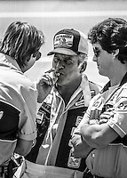 David Pearson Winston 500 at Alabama International Motor Speedway in Talladega , AL on May 5, 1985. (Photo by Brian Cleary/www.bcpix.com)