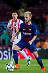 Ivan Rakitic of FC Barcelona in action during the UEFA Champions League 2017-18 match between FC Barcelona and Olympiacos FC at Camp Nou on 18 October 2017 in Barcelona, Spain. Photo by Vicens Gimenez / Power Sport Images