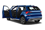 Car images close up view of a 2020 Skoda Kamiq Style 5 Door SUV doors