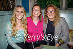 Enjoying the evening in Molly J's on Saturday, l to r: Nora Gibbens, Lisa Kelly and Michelle O'Sullivan.
