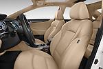 Front seat view of a 2015 Hyundai Sonata  Hybrid 4 Door Sedan front seat car photos
