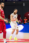 Real Madrid and Crvena Zvezda Telekom during Euroligue Basketball at Barclaycard Center in Madrid, October 22, 2015<br /> Sergio Rodriguez.<br /> (ALTERPHOTOS/BorjaB.Hojas)