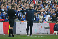 Chelsea Manager Maurizio Sarri during the Carabao Cup Final match between Chelsea and Manchester City at Stamford Bridge on February 24th 2019 in London, England. (Photo by Paul Chesterton/phcimages.com)<br /> Foto PHC Images / Insidefoto <br /> ITALY ONLY