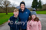 Enjoying a stroll in the Killarney National park on Friday, l to r: Jack Barry, Norma Foley and Sarah Barry.