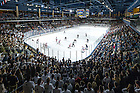 Feb. 26, 2016; Compton Family Ice Arena, sellout game vs Boston University (Photo by Matt Cashore/University of Notre Dame)