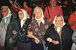 Mothers of Plaza de Mayo gather weekly to remind the world of the Disappeared. Buenos Aires Argentina South America. 2000s.