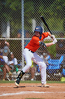 James McCoy (13) during the WWBA World Championship at Terry Park on October 8, 2020 in Fort Myers, Florida.  James McCoy, a resident of Dunwoody, Georgia who attends Wesleyan High School, is committed to Kentucky.  (Mike Janes/Four Seam Images)