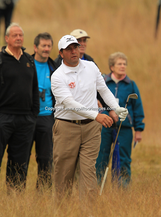 Ricardo Gonzalez during the second round of the 2012 Aberdeen Asset Management Scottish Open being played over the links at Castle Stuart, Inverness, Scotland from 12th to 14th July 2012:  Stuart Adams www.golftourimages.com:13th July 2012