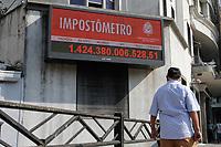 14.09.2020 - Impostômetro em São Paulo
