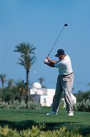 Golfplatz, Plage de Sidi Mahres, Djerba, Tunesien