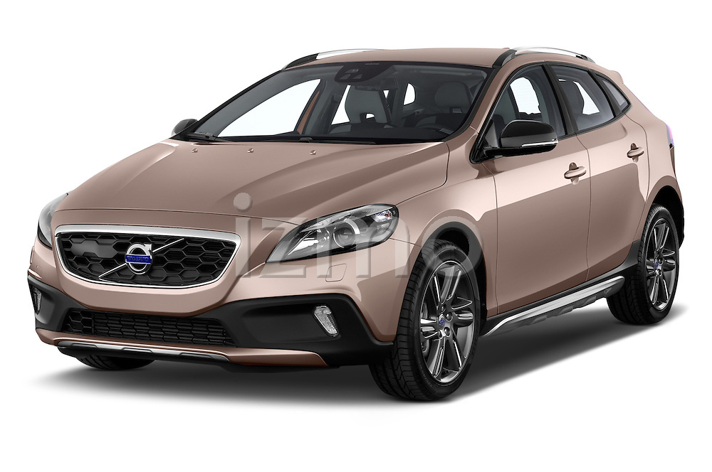 Front three quarter view of a 2013 Volvo V40 Cross Country Summum Hatchback