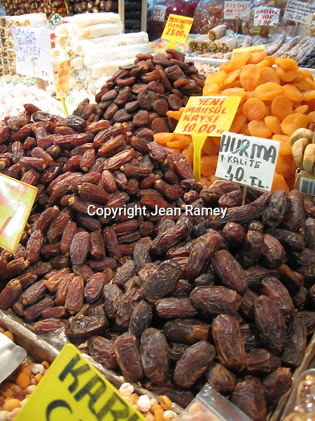 Dried figs at Spice Market, Istanbul