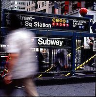 Subway entrance<br />