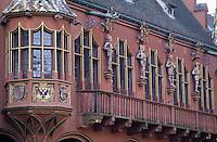 Europe/Allemagne/Forêt Noire/Fribourg : Maison des marchands (XVI°) place de la Cathédrale
