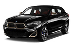 2019 BMW X2 M35 5 Door SUV Angular Front automotive stock photos of front three quarter view
