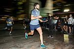 Bloomberg Square Mile Relay race across the Dubai International Financial Centre on 07 February 2018 in Dubai, United Arab Emirates. Photo by Ian Walton / Power Sport Images