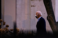 United States President Joe Biden arrives at Holy Trinity Catholic Church for Mass in Georgetown, Washington, D.C., U.S., on Friday, February 20, 2021.<br /> Credit: Samuel Corum / Pool via CNP /MediaPunch