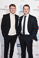 Jamie Borthwick & Max Bowden<br /> arriving for the Football for Peace initiative dinner by Global Gift Foundation at the Corinthia Hotel, London<br /> <br /> ©Ash Knotek  D3493  08/04/2019